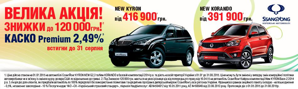 Kyron Korando на ais
