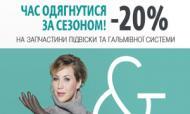 Подготовка к зиме от CITROЁN: 20% выгоды, 100% безопасности