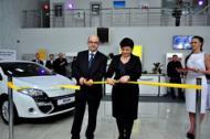 Открыл двери новый автоцентр Renault