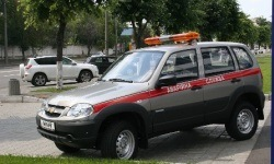 Chevrolet NIVA принята в cпецназ!
