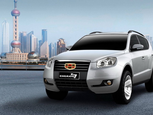 geely strategy